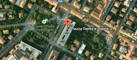Sede studio legale Martinelli Rogolino, piazza Trento e Trieste 2, Bologna