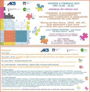 Convegno aics 06-02-15