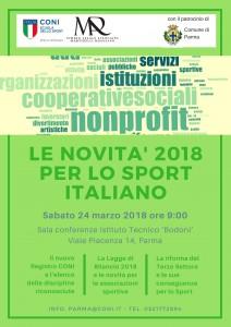 Parma 24 marzo 2018