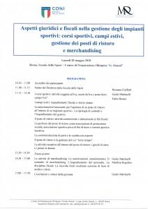 Seminario CONI 28-05-2018