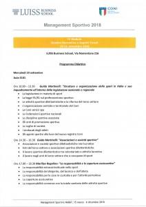 Programma Luiss 19-09-18
