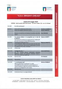 Programma 04-05-2019