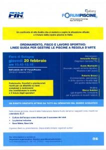 Forum Piscine 20-02-2020