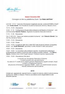 Programma 5 dicembre